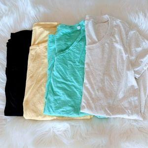 4 piece T-shirt Bundle